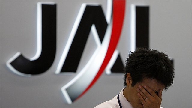 JAL worker reacts to bankruptcy