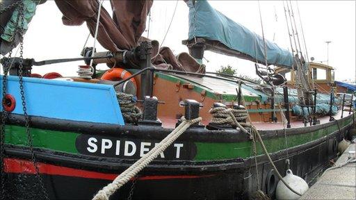 Humber sloop Spider T