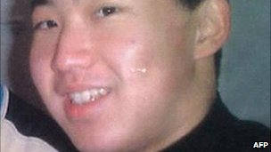 An undated photo shows the man believed to be North Korean leader's son Kim Jong-un
