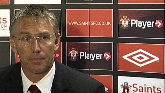 Southampton manager Nigel Adkins