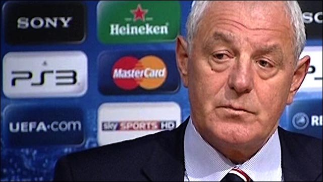 Rangers boss Walter Smith