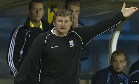 Airdrie manager Jimmy Boyle