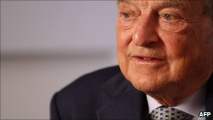 Fund manager, George Soros