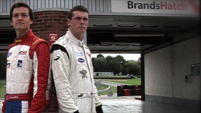 Jolyon Palmer(l) and Dean Stoneman (r)