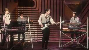 OMD on Top Of The Pops in 1980