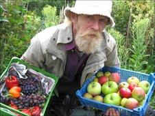 Richard Clare from Sheffield Organic Food Initiative