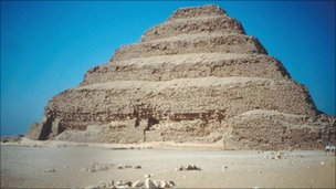 Stepped Pyramids at Saqqara, Egypt