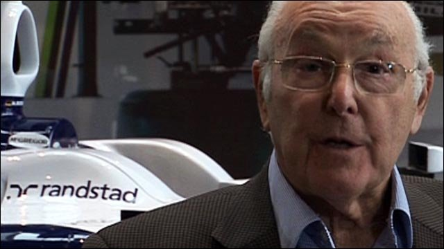 Formula 1 broadcasting legend Murray Walker