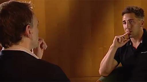 Gareth Lewis interviews Gavin Henson for Scrum V