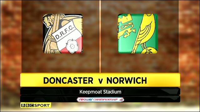 Doncaster 3-1 Norwich
