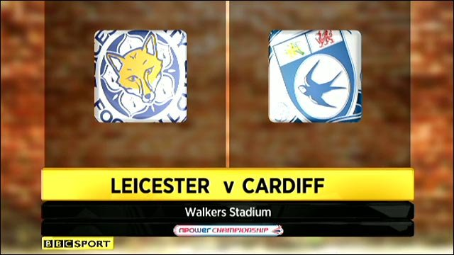 Leicester v Cardiff