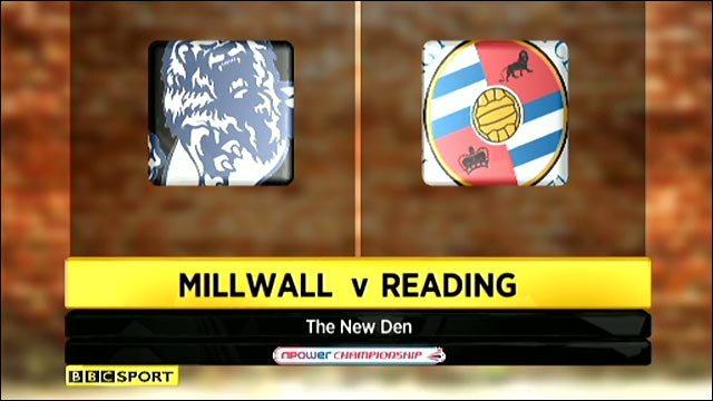 Millwall v Reading