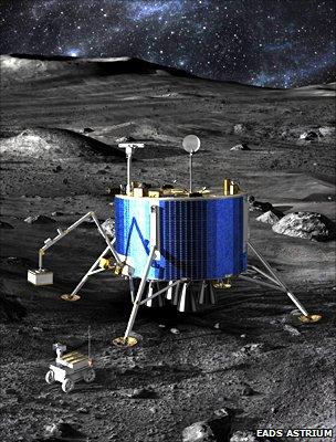 Lunar lander concept (EADS Astrium)