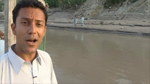 Aleem Maqbool on the Indus in Punjab province