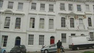 Eileen Nearne's home