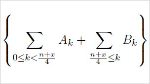 Formula used in calculating pi digits