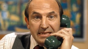 Comedian Leonard Rossiter
