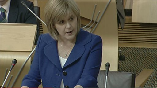 Deputy First Minister Nicola Sturgeon took FMQs