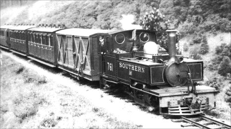 One of the original trains from the old Barnstaple line