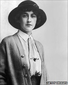 Agatha Christie in 1926. Copyright Hulton Archive/Getty Images.