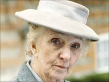 Joan Hickson as Miss Jane Marple.