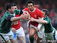 Gavin Henson against Iereland