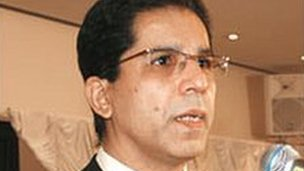 Imran Farooq - picture provided by MQM party
