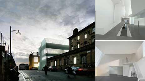 School of art - North Elevation from Dalhousie St