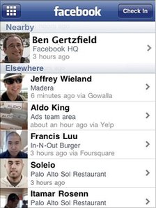 Facebook Places location-aware service launches in UK