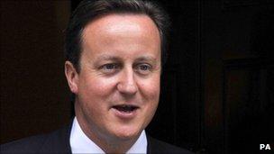 David Cameron, prime minister