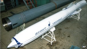 P-800 Yakhont missile (1997)