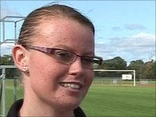 Nicole Smith won two golds at the All-Ireland Games in Limerick