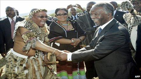 relationship between thabo mbeki and moeletsi