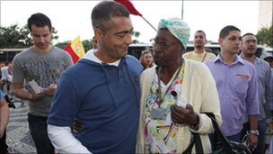 Romario and voters