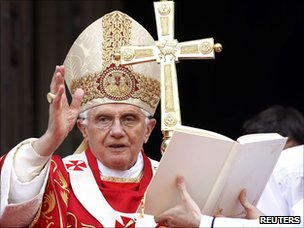 Pope Benedict at Westminster Cathedral