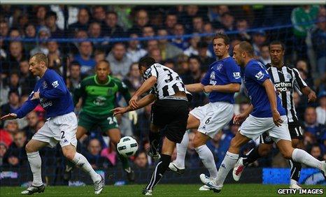 Hatem Ben Arfa's stunning strike gave Newcastle victory