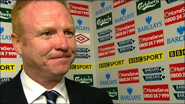 Birmingham boss Alex McLeish