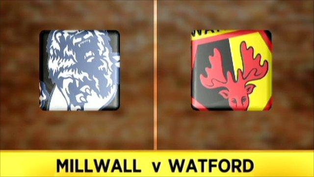 Milllwall 1-6 Watford