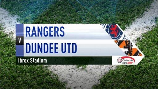 Highlights - Rangers 4-0 Dundee Utd
