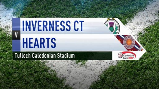 Highlights - Inverness CT 1-3 Hearts