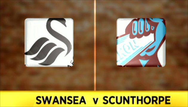 Swansea 2-0 Scunthorpe