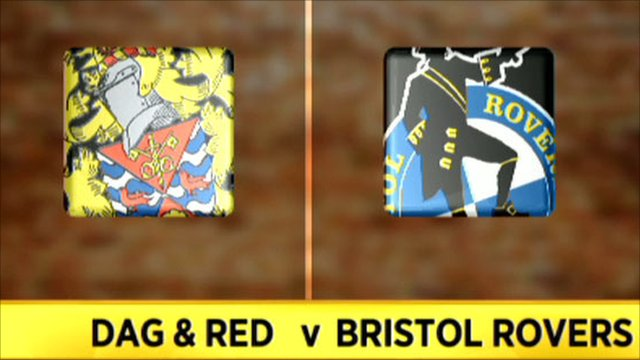 Dag & Red 0-3 Bristol Rovers