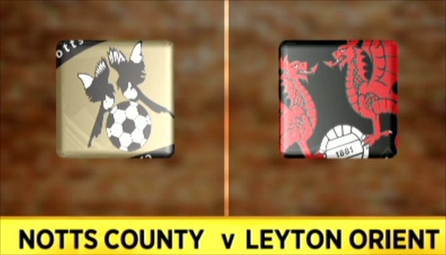 Notts County 3-2 Leyton Orient