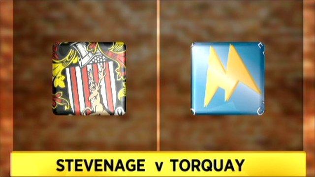 Stevenage 0-0 Torquay