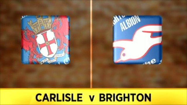 Carlisle 0-0 Brighton