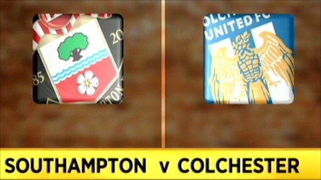 Southampton 0-0 Colchester