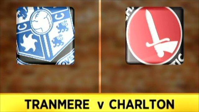 Tranmere 1-1 Charlton