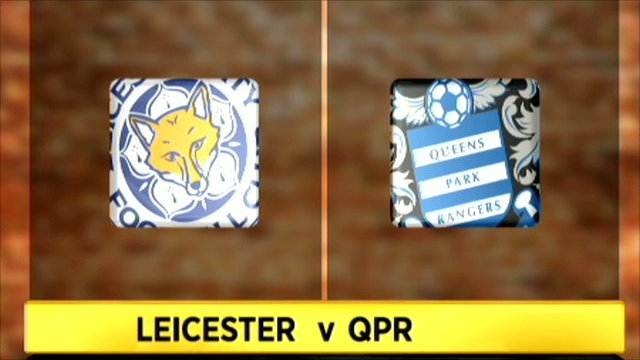 Leicester 0-2 QPR