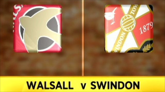 Walsall 1-2 Swindon