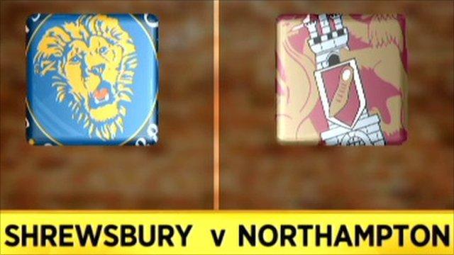 Shrewsbury 3-1 Northampton
